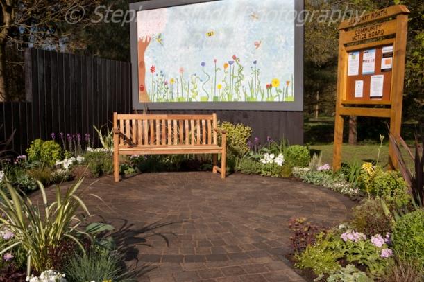 """A Growing Community"" Llandaff North Residents Association designed by Stephanie Wilkins"