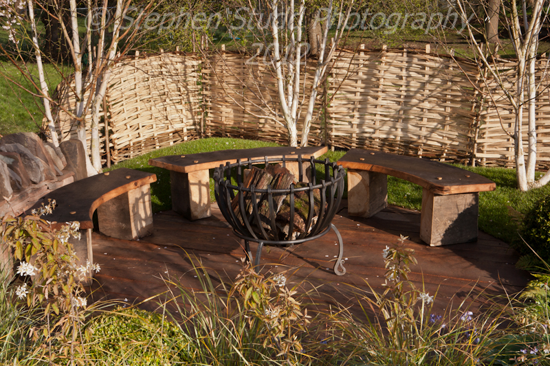 """Naturalistic"" Designed by Harry Rich awarded Best in Show and Silver Gilt RHS Show Cardiff 2012"