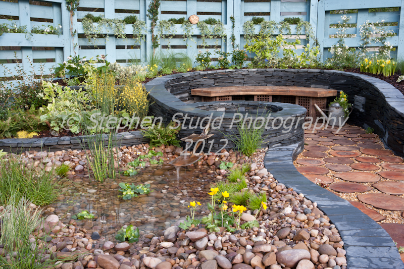 """Regeneration"" Designed by Dewin Designs, Jane Grehan & David Lewis Awarded Silver Gilt RHS Cardiff Show 2012"