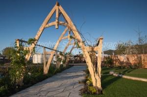 """""""Hasten Slowly"""" designed by Imogen Cox Associaites, awarded Silver Flora, Malvern Spring Gardening Show 2012"""