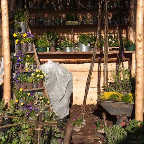 Winners Best School Garden; George`s Marvellous Medicine, Designed by Burlish Park Primary School, Theme; Sustainability for All.