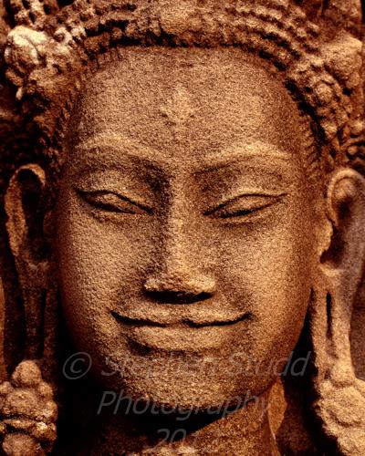 Angkor Wat Cambodia smiley face