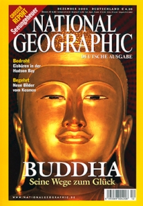 National Geographic front cover from Myanmar (Burma) shot by Stephen Studd photography