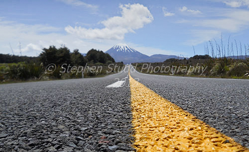 Mount Ngauruhoe New Zealand road trip