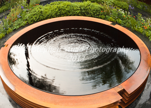 Photography     Show Gardens; The World Vision Garden Designer Flemons Warland Design ;    Sponsor; World vision Awarded Silver RHS Chelsea Flower Show 2012
