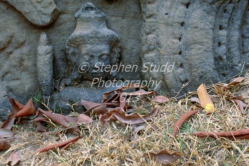 Angkor Wat fallen temple