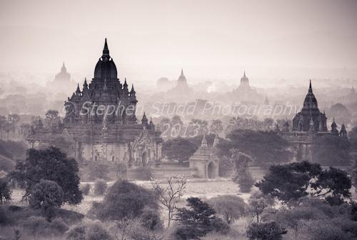 Myanmar (Burma) Bagan temples