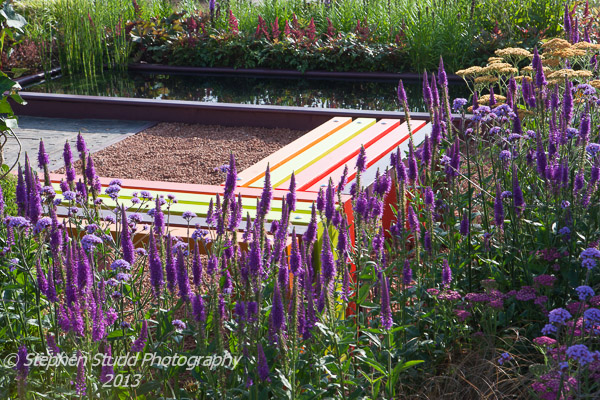 Nature Squared designed by Reaseheath College FdSc Garden & Landscape design year 2 awarded Silver Gilt Tatton Park RHS flower show 2012
