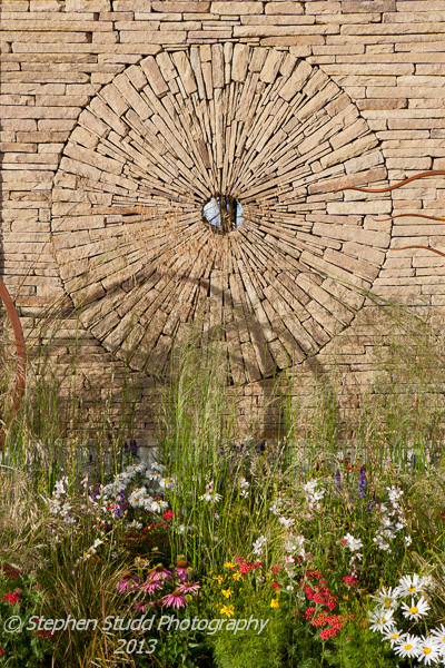 The Mornflake garden designed by Janine Crimmins awarded Gold and Best Show Garden Tatton Park RHS flower show 2012