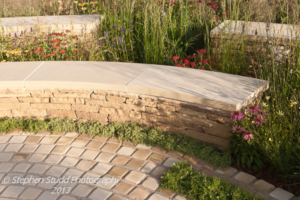 The Mornflake garden designed by Janine Crimmins awarded Gold and Best Show Garden Tatton Park RHS flower show 2012