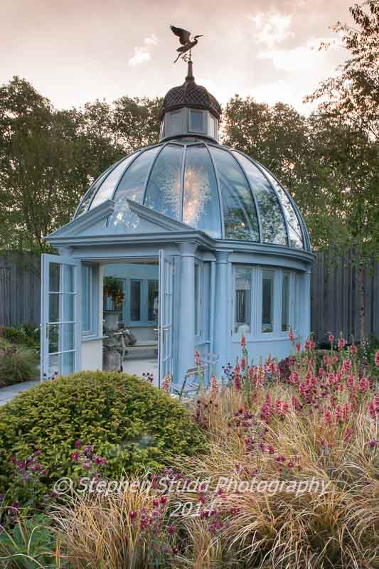 RHS Chelsea flower show 2014 - Khora Ltd Trade Stand -  Wins the RHS Director General's Award for the Best Trade Stand and A Five Star Award for the Best Trade Stand