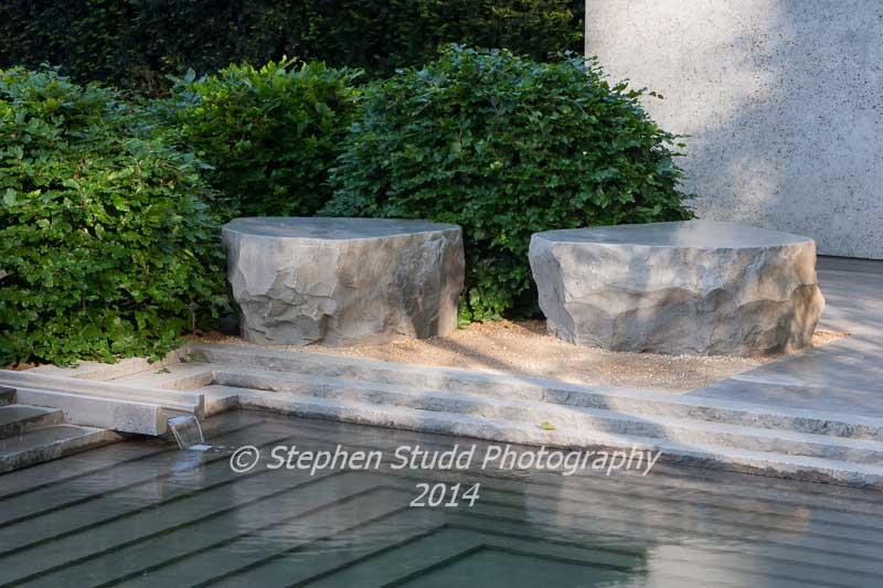 RHS Chelsea flower show 2014 - The Laurent Perrier Garden - Designer: Luciano Giubbilier - Sponsor: Champagne Laurent- Perrier