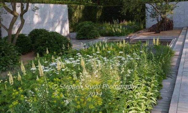 Laurent Perrier Garden - Designer: Luciano Giubbilier - Sponsor: Champagne Laurent- Perrier