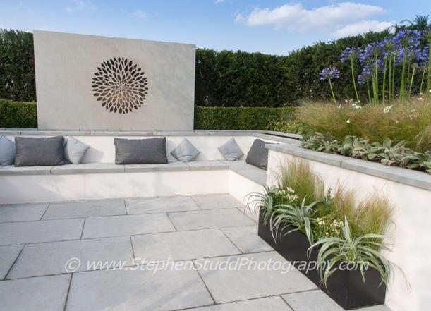 Tatton Park 2014 Cheshire RHS flower show Belinda Belt 'Vogue' garden