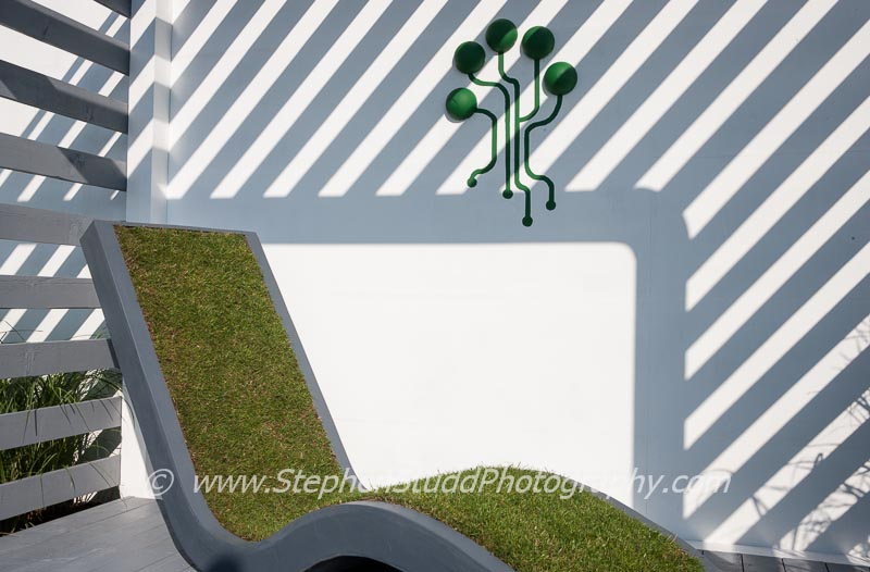 'Digital Green' by Clusius College students at RHS Tatton Park flower show 2014