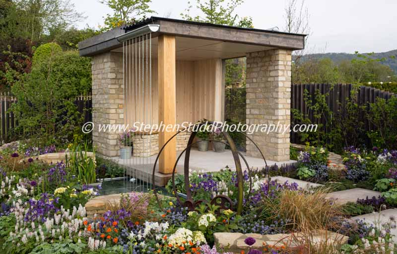 RHS Malvern spring festival 2015 The Cotswold Way garden designed by Amy Perkins Silver Gilt and People's Choice best show garden