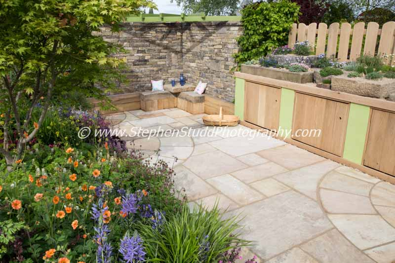 Are you sitting comfortably malvern spring festival 2015 for Outer space garden design
