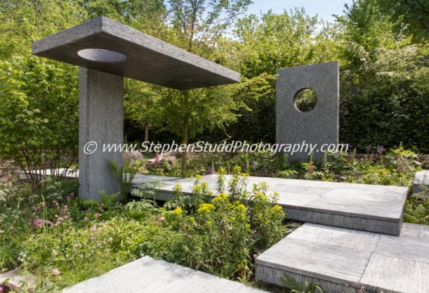 The Brewin Dolphin Garden - - Designer Darren Hawkes Landscapes - Sponsor Brewin Dolphin awarded gold medal