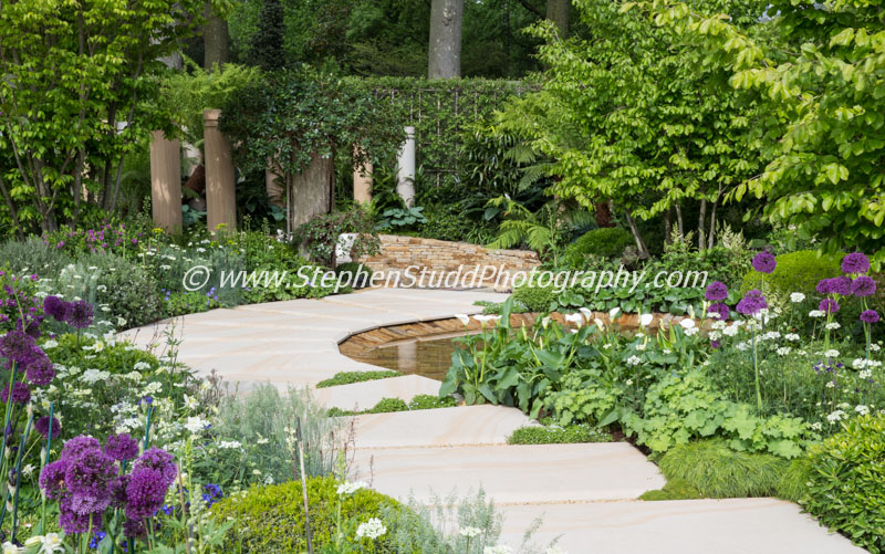 RHS Chelsea flower show 2015 - The Time in Between – Designer Charlie Albone - Sponsor – Husqvarna - Gardena - awarded