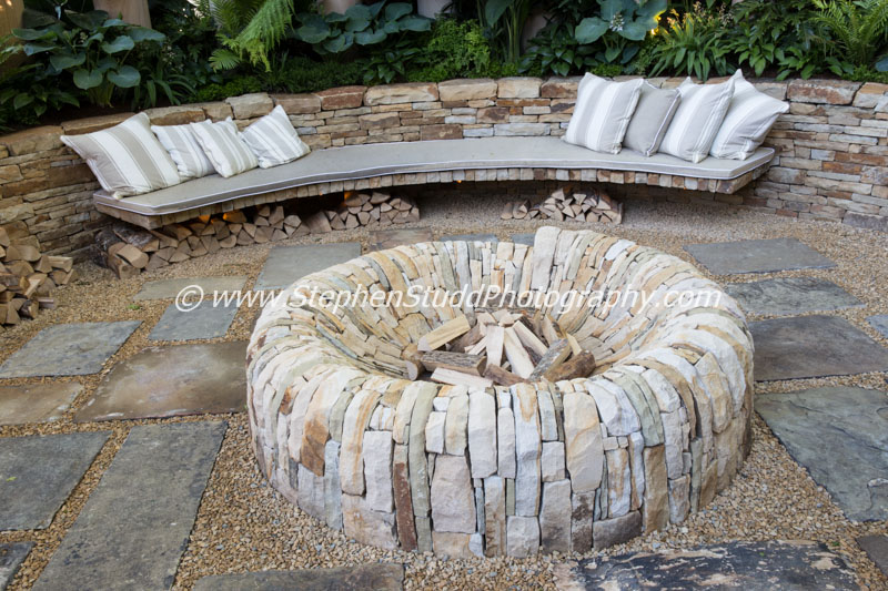 RHS Chelsea flower show 2015 - The Time in Between – Designer Charlie Albone - Sponsor – Husqvarna - Gardena - awarded Silver Gilt