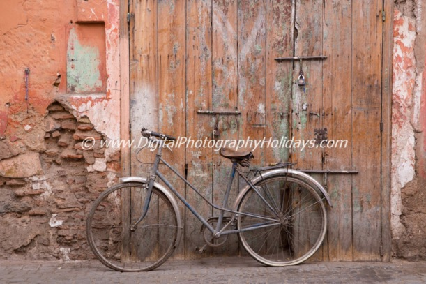 digital travel photography holidays tours workshops to Marrakech Morocco, Vietnam, Cambodia, Burma Asia hosted by Stephen Studd bicycle medina