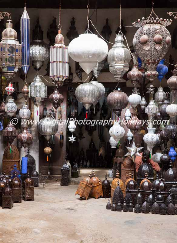 digital travel photography holidays tours  workshops to Marrakech Morocco, Vietnam, Cambodia, Burma Asia hosted by Stephen Studd metal workers district