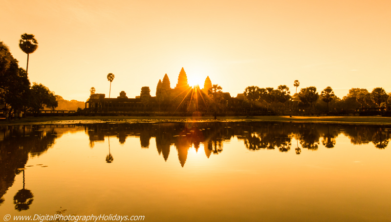 digital travel and landscape photography holidays, vacations, photo tours and workshops to Asia, Cambodia: Angkor Wat