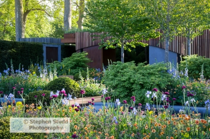 Stephen Studd - The Homebase Garden Urban Retreat - Designer Adam Frost - Sponsor Homebase awarded Gold