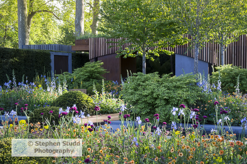 Stephen Studd - The Homebase Garden Urban Retreat - Designer Adam Frost - Sponsor Homebase awarded Gold